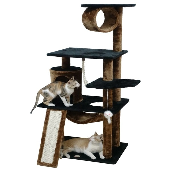 "Go Pet Club 53"" Kitten Cat Tree by Go Pet Club"