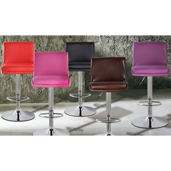 Short Square Back Adjule Height Bar Stool Free Shipping