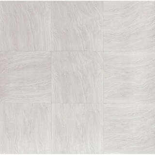 Yosemite Silvertone Porcelain 24-inch Square Polished Tiles (Case of 4)
