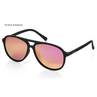 Vernier Unisex Polarized Mirror Lens Sport Sunglasses