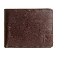 Hidesign Vespucci Brown Buffalo Leather RFID-blocking Slim Bifold Wallet
