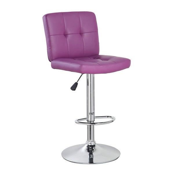 Mid Back Classic Adjustable Height Armless Barstool