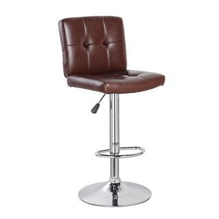 Mid-back Classic Adjustable Height Armless Barstool