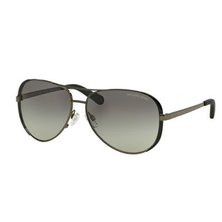 Michael Kors Women's Chelsea Gunmetal Grey Aviator Sunglasses