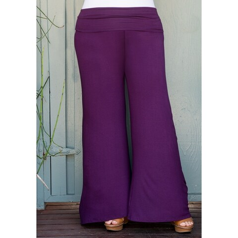 Sealed with a Kiss Women's Plus Size Classic Jersey Pants