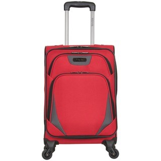 """Kenneth Cole Reaction """"Going Places"""" 20-inch Lightweight Carry On Spinner Suitcase"""
