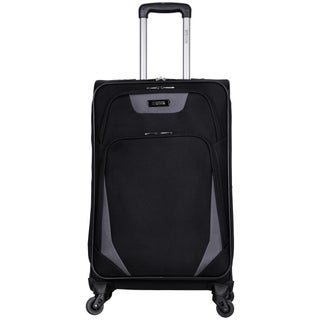 Kenneth Cole Reaction 'Going Places' 24-inch Lightweight Expandable 4-wheel Spinner Checked Suitcase (3 options available)