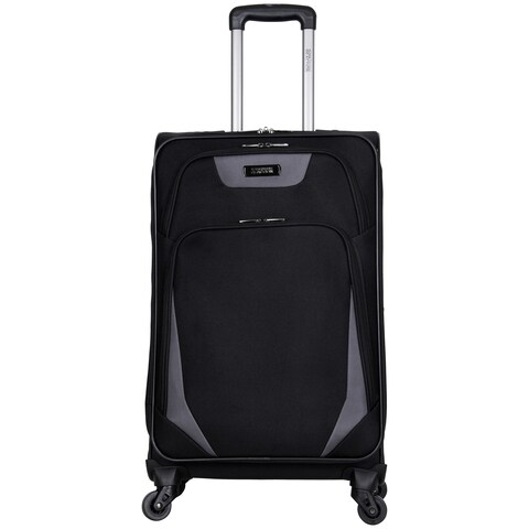 Kenneth Cole Reaction 'Going Places' 24-inch Lightweight Expandable 4-wheel Spinner Checked Suitcase