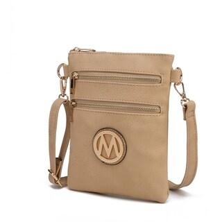 MKF by Mia K. Farrow Medina Small Crossbody Handbag (Option: Navy)