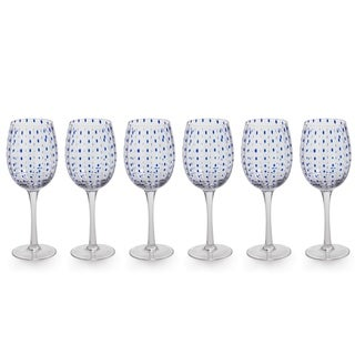 "Link to ""Mavi"" 9"" Tall Wine Glass (Set of 6) Similar Items in Glasses & Barware"