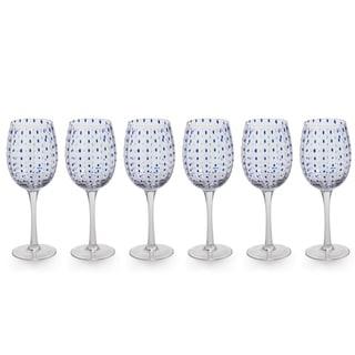 """Mavi"" 9"" Tall Wine Glass (Set of 6)"