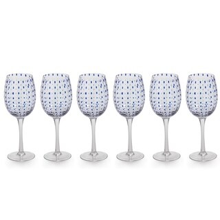 """Mavi"" 9"" Tall Wine Glass (Set of 6)"