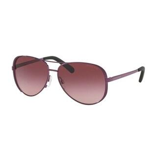 Michael Kors Chealsea Aviator Women's Burgundy Sunglasses