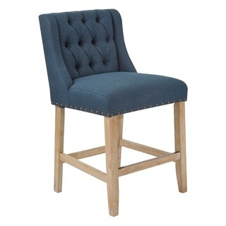 OSP Home Furnishings 24 inch Mid Century Kate Counter Stool
