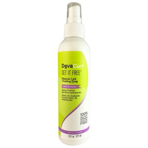 DevaCurl Set It Free 6-ounce Moisture Lock Finishing Spray