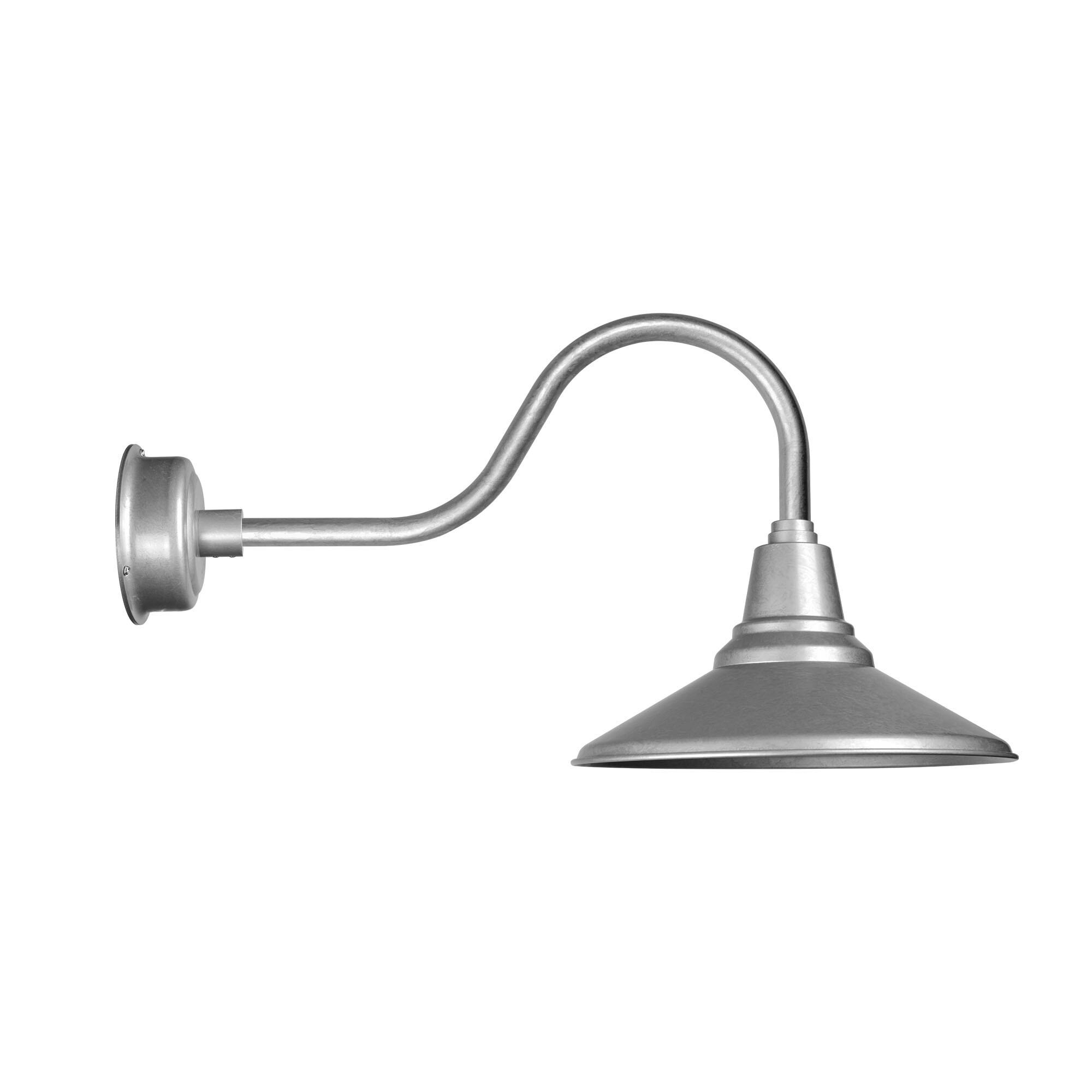 """Cocoweb 12"""" Calla LED Barn Light with Contemporary Arm in..."""
