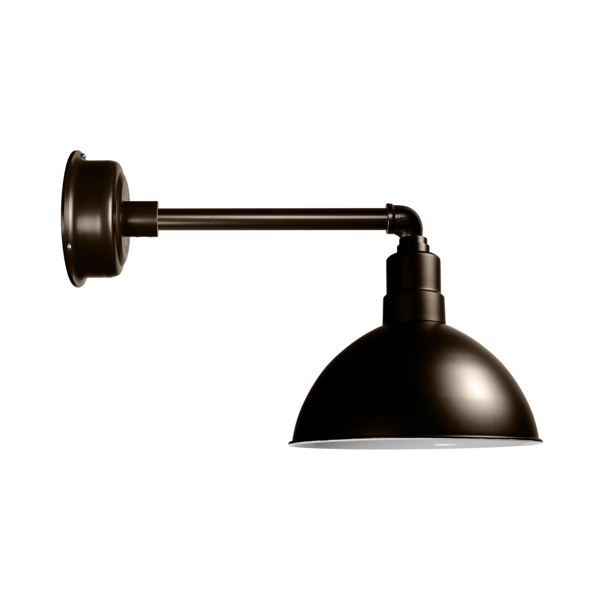 "Cocoweb 8"" Blackspot LED Barn Light with Metropolitan Arm..."