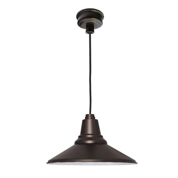 Cocoweb Calla Mahogany Bronze 18-inch LED Pendant Light