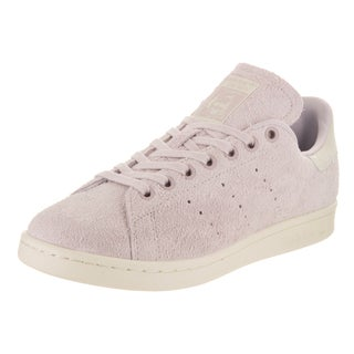 Adidas Women's Stan Smith Originals Pink Suede Casual Shoes