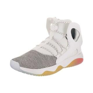 Nike Men's Air Flight Huarache Ultra White Neoprene Basketball Shoes