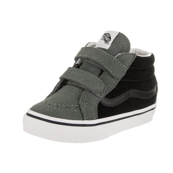 5e9de05c0cc Shop Vans Toddlers Sk8-Mid Reissue V (2-Tone) Skate Shoe - Free ...
