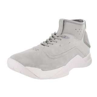 Nike Men's Hyperdunk Low Craft Grey Suede Basketball Shoes
