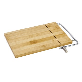 Kitchen Details Bamboo Cheese Board with Slicing Cable