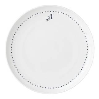 Lenox I.D Navy Dots Dinner Plate