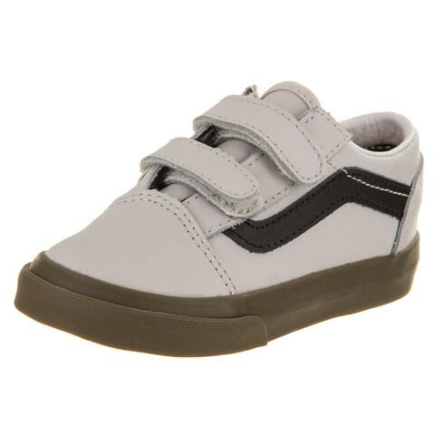 Vans Toddlers Old Skool V (Bleacher) Skate Shoe