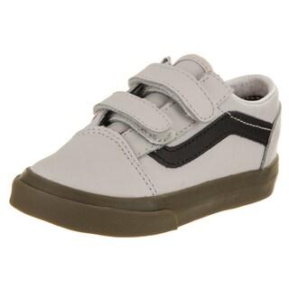 Vans Toddlers Old Skool V (Bleacher) Skate Shoe (Option: 5)