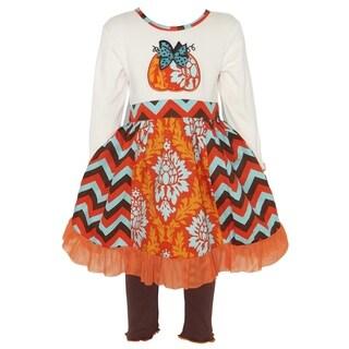 AnnLoren Girls Thanksgiving Pumpkin Damask & Chevron Dress Set|https://ak1.ostkcdn.com/images/products/16680832/P23000388.jpg?_ostk_perf_=percv&impolicy=medium