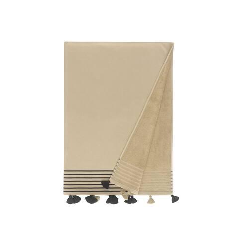 Capri Pestemal Fouta Turkish Cotton Beach Towel - 36x67 Inches