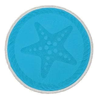 Starfish Round Beach Towel