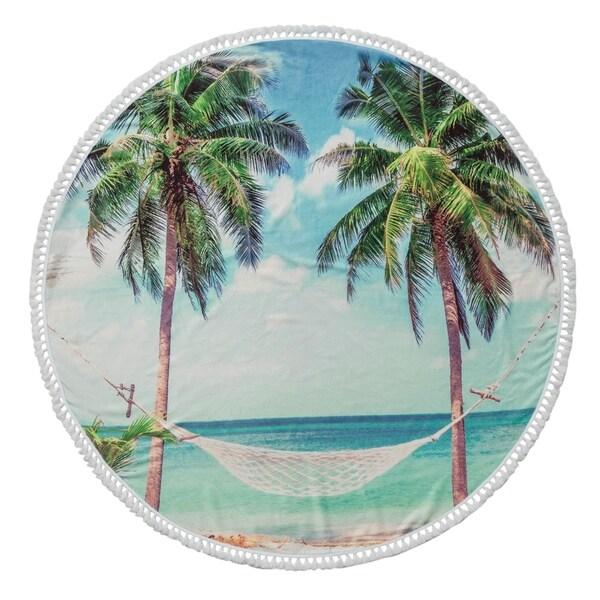 Summer Round Beach Towel