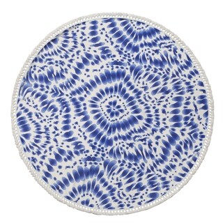 Indigo Round Beach Towel