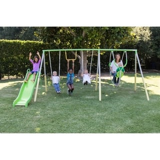 Sportspower Spring Breeze Me and My Toddler Swing Set