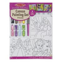Melissa & Doug Princess Canvas Painting Set
