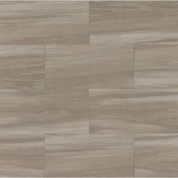 Shop 12x24 Rose Wood Texture Taupe Case Of 9 Free Shipping Today
