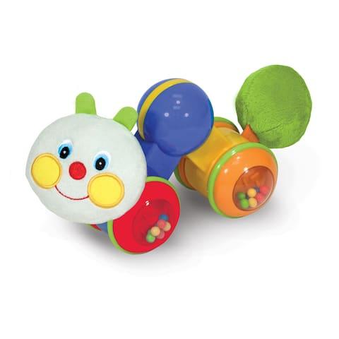K's Kids Press and Go Inchworm Baby Toy