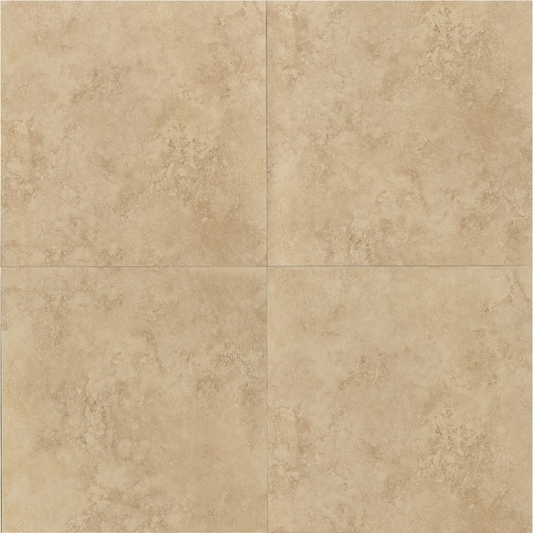 Roma Beige Porcelain 24 Inch Square Tiles Pack Of 4