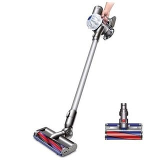 Dyson V6 Origin Cord-Free Vacuum + Bonus Soft Roller Cleaner Head (Refurbished)