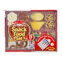 Melissa & Doug Store & Serve Snack Food Set