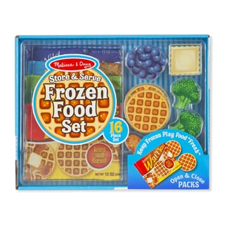 Melissa & Doug Store & Serve Frozen Food Set
