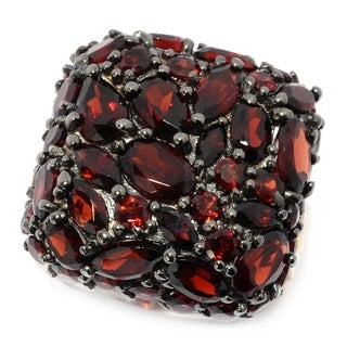 Michael Valitutti Palladium Silver Multi Shape Garnet Cluster Cushion Top Ring|https://ak1.ostkcdn.com/images/products/16683016/P23002299.jpg?_ostk_perf_=percv&impolicy=medium