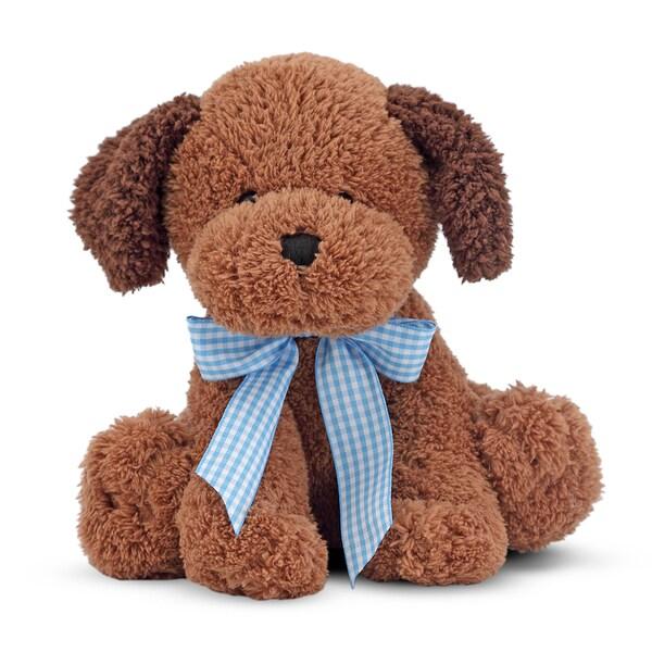 Melissa & Doug Meadow Medley Chocolate Puppy Stuffed Animal