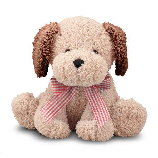 Melissa & Doug Meadow Medley Golden Puppy Stuffed Animal