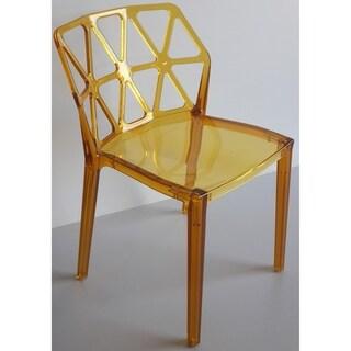 EMC Polycarbonate Zig-Zag Chair