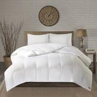 Woolrich Cotton 600 Fill Power Oversized Down Comforter