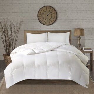 Woolrich Cotton 600 Fill Power Oversized Down Comforter