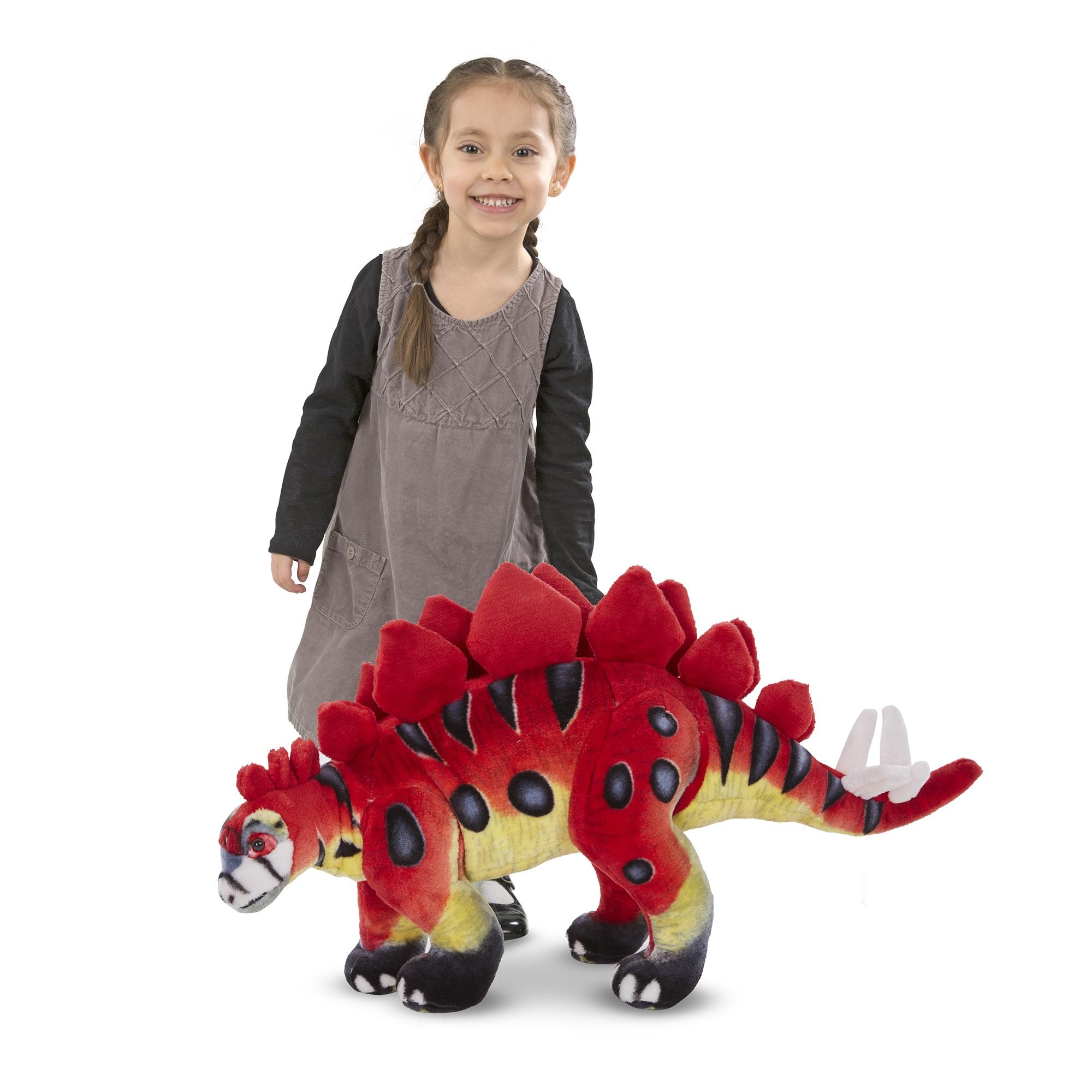Melissa and Doug Stegosaurus Giant Stuffed Animal (Multi)...